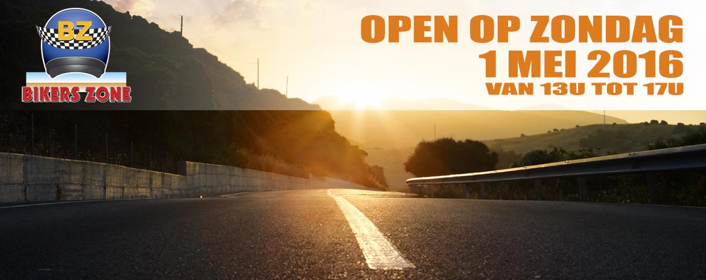 Open op 1MEI