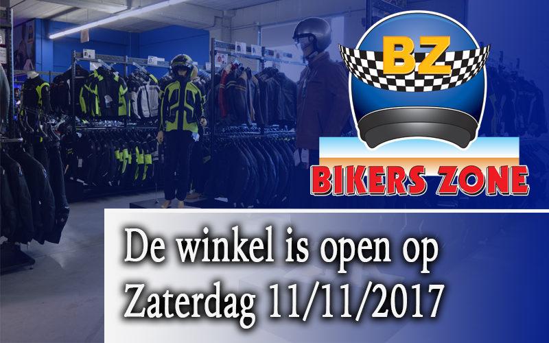 Open op 11/11/2017